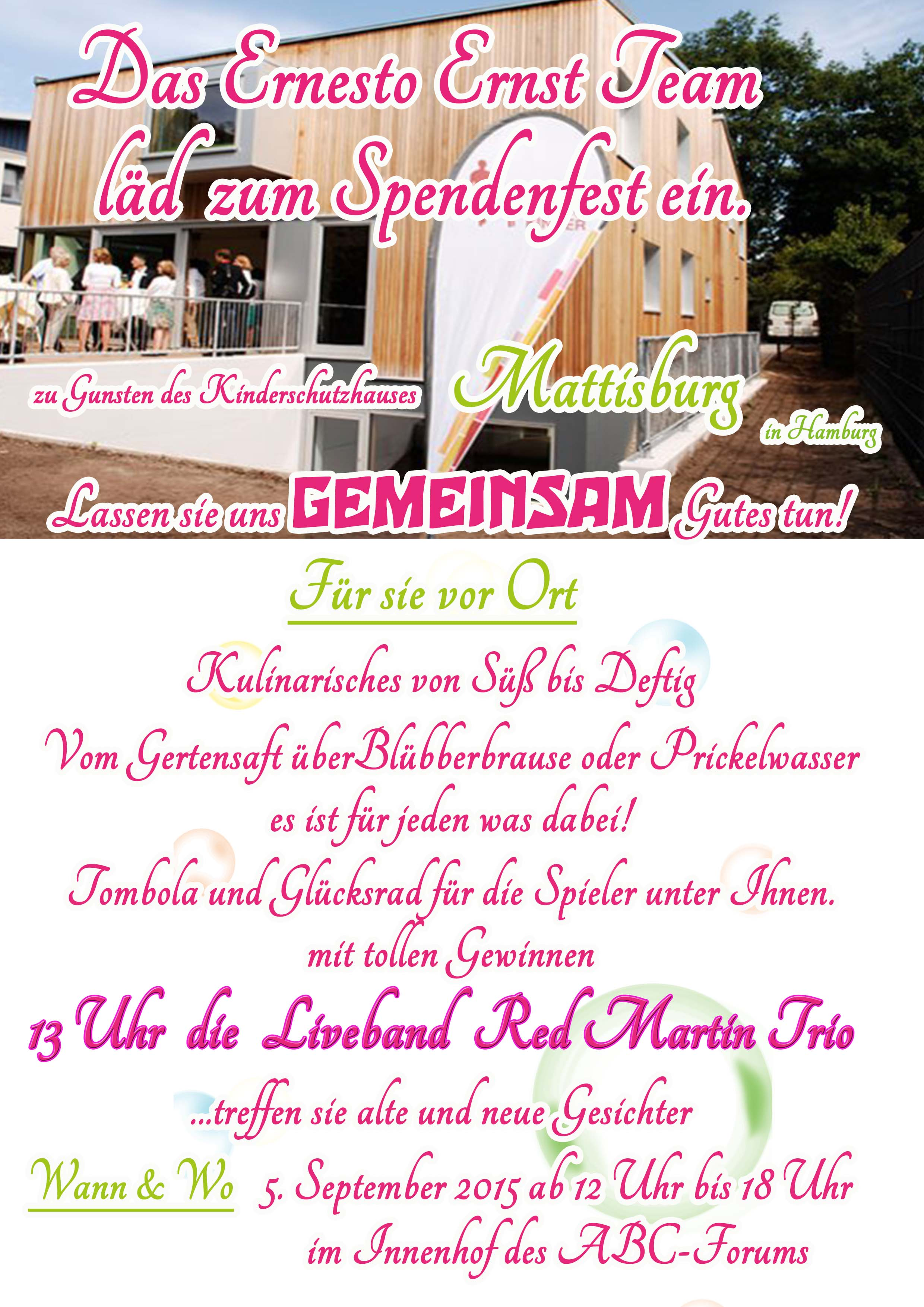 Poster A4Spendenfest